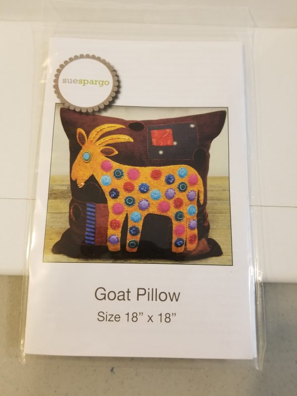 Goat pillow cushion